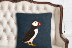 Puffin Cushion_chair lifestyle