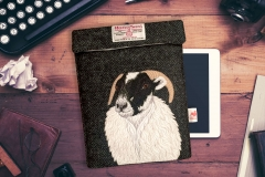 Sheep ipad case_flat lay