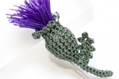 Scottish Thistle Brooch