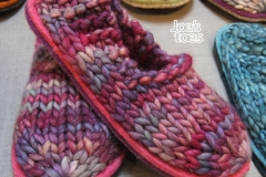 Joes-Toes-Malabrigo-Rasta-Sam-slippers-in-Boreal-with-logo-smaller